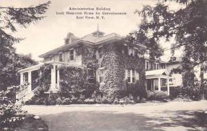 New York East View Administration Building Loeb Memorial Home For Convalescen...
