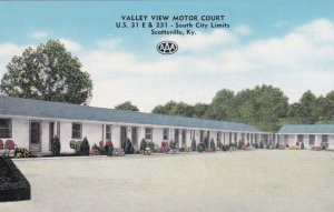 Kentucky Scottsville Valley View Motor Court sk2208