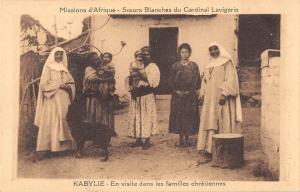 BF8779 kabylie en visite dans les families chreti types algeria