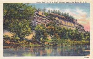 Missouri Noel Butler Bluff Curteich