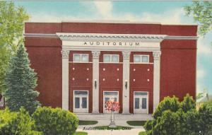 Auditorium, BRYAN, Ohio, 1900-1910s