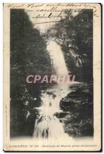 Postcard Old Correze Murel near Cascade (Argentat)