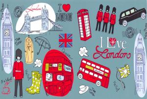 Pack of 6 NEW London Postcards,England, UK, Icons, City, View, Travel 57L