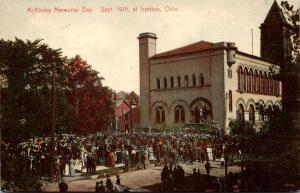 Ohio Ironton McKinley Memorial Day September 1901