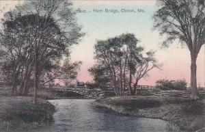 Maine Clinton Hern Bridge 1907