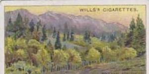 Wills Vintage Cigarette Card 1914 Overseas Dominions Canada No 16 Kootenay Re...