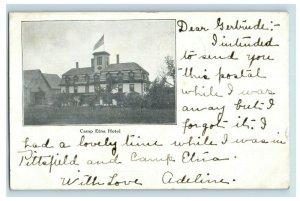 C. 1900-07 Camp Etna Hotel Postcard P41
