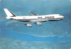 B71400 Boeing 747 Air france plane plan France