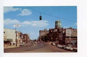 Hamilton OH Street View Old Cars Vintage Store Fronts Postcard