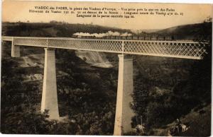 CPA Viaduc des FADES le geant des Viaducs d'Europe - Vue prise pres (222132)