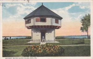 Pennsylvania Erie Anthony Wayne Block House 1915