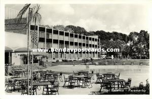 suriname, PARAMARIBO, Hotel Torarica (1950s) RPPC