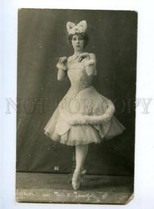 174978 LUKOM Russian BALLET Star Dancer KITTY Vintage PHOTO
