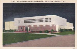 South Carolina Greenville Bob Jones University Museum and Gallery At Night
