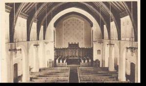 Massachusetts Mount Hermon Mount Hermon School Interior Of Memorial Chapel Al...