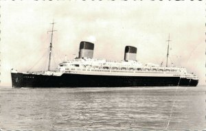 Nautica Passenger ship Compagnie Generale Transatlantique Liberte RPPC 03.30
