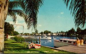 Florida Indian Rocks Beach Yacht Basin 1969