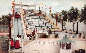 Denver, Colorado, CO, USA Postcard The Tickler, Lakeside 1910