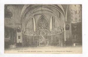 Interieur De La Chapelle De l'Hospice, Alise-Sainte-Reine (Côte-d'Or), Franc...