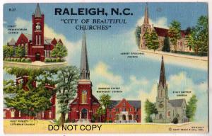 Churches, Raleigh NC