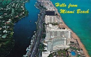 Florida Miami Beach Hello From Miami Beach