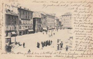 ROMA (Rome), Italy, 1902 ; Piazza di Spagna
