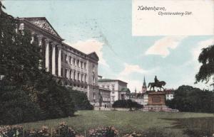 KOBENHAVN, Denmark, PU-1915; Christiansborg Slot
