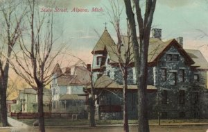 ALPENA , Michigan , 1900-10s ; State Street