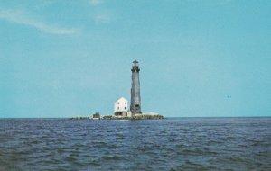 MOBILE, Alabama, 1950-1960's; Sand Island LIghthouse