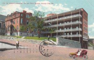 KANSAS CITY, Missouri, 1909; St. Joseph's Hospital, 7th and Penn Streets