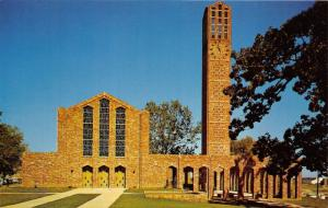 Starkville Mississippi State University George Perry Tower-Carillon~Chapel~1960s