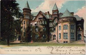 Warner Concert Hall, Oberlin College - Oberlin, Ohio - pm 1907 - UDB