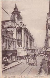 La Rue Moyenne Et Les Nouvelles Galeries, Bourges (Cher), France, 1900-1910s