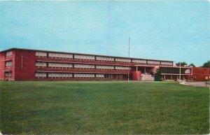 Postcard USA francis de sales high school bancroft toledo ohio