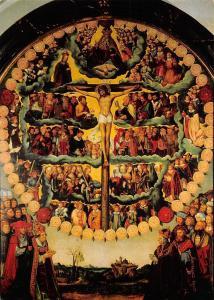 Bamberg Kaiserdom Rosenkranzbild Gemaelde von Lukas Cranach