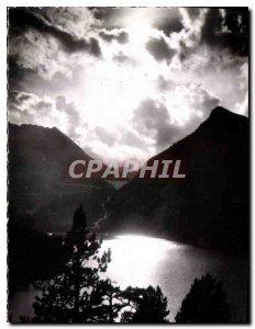 Old Postcard Vallee Aure H P Crepascule Lake