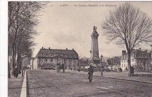 France Caen La Caserne Hamelin et le Monument