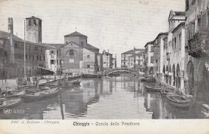 CHIOGGIA , Italy , 1900-10s ; Canale della Peschiera