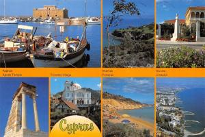 Cyprus Aphrodite's Island multiviews Akamas Protaras Nicosia Limassol