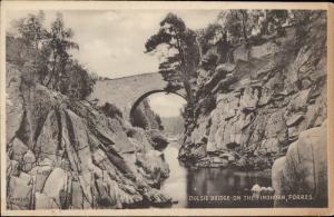 dulsie bridge on the Findhorn Forres