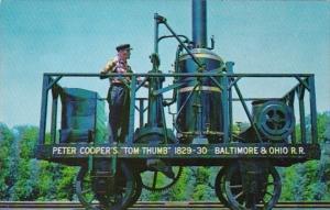 Maryland Baltimore Tom Thumb Locomotive Baltimore and Ohio Transportation Museum