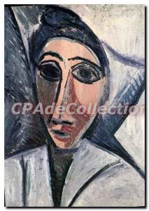 Modern Postcard Paris Grand Palais Picasso bust of marine