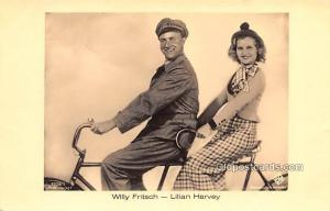 Willy Fritsch, Lilian Harvey Movie Star Actor Actress Film Star Postcard, Old...