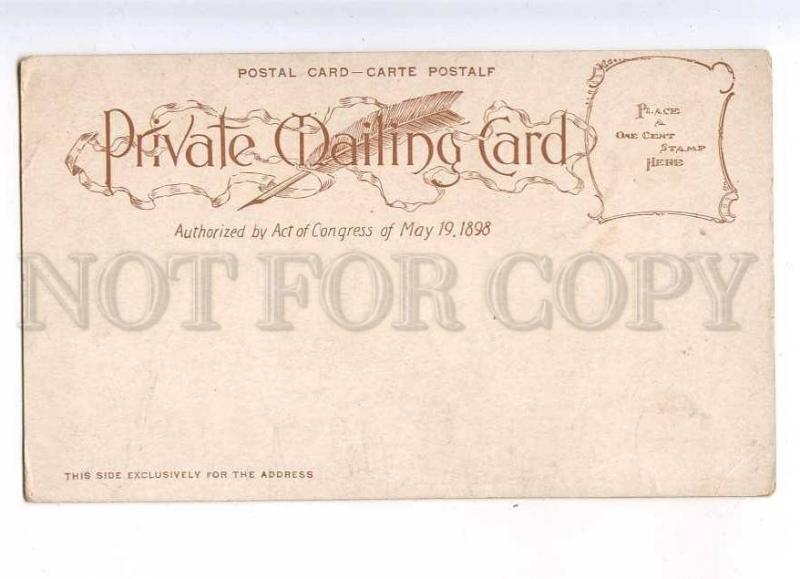 232886 USA SAN FRANCISCO CHINATOWN children 1898 year postcard