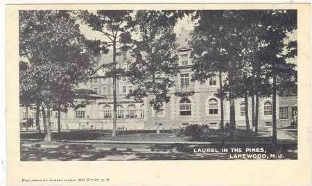 Laurel in the Pines, Lakewood, New Jersey, Pre-1907
