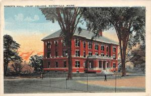 Maine Waterville, Colby College, Roberts Hall