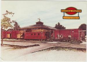 VICTORIA STATION, Restaurant, unused Postcard