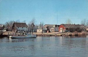 Millville New Jersey Maurice River Waterfront Vintage Postcard K49515