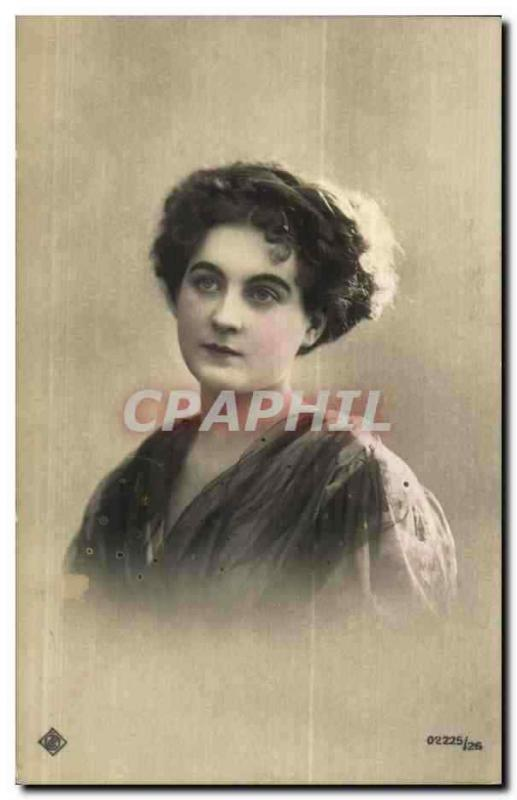 Fantaisie - Femme - Lovely woman with enchanting eyes (carte hongroise Hungary H