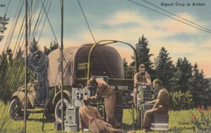 U.S. Army , Signal Corp in action , 1930-40s